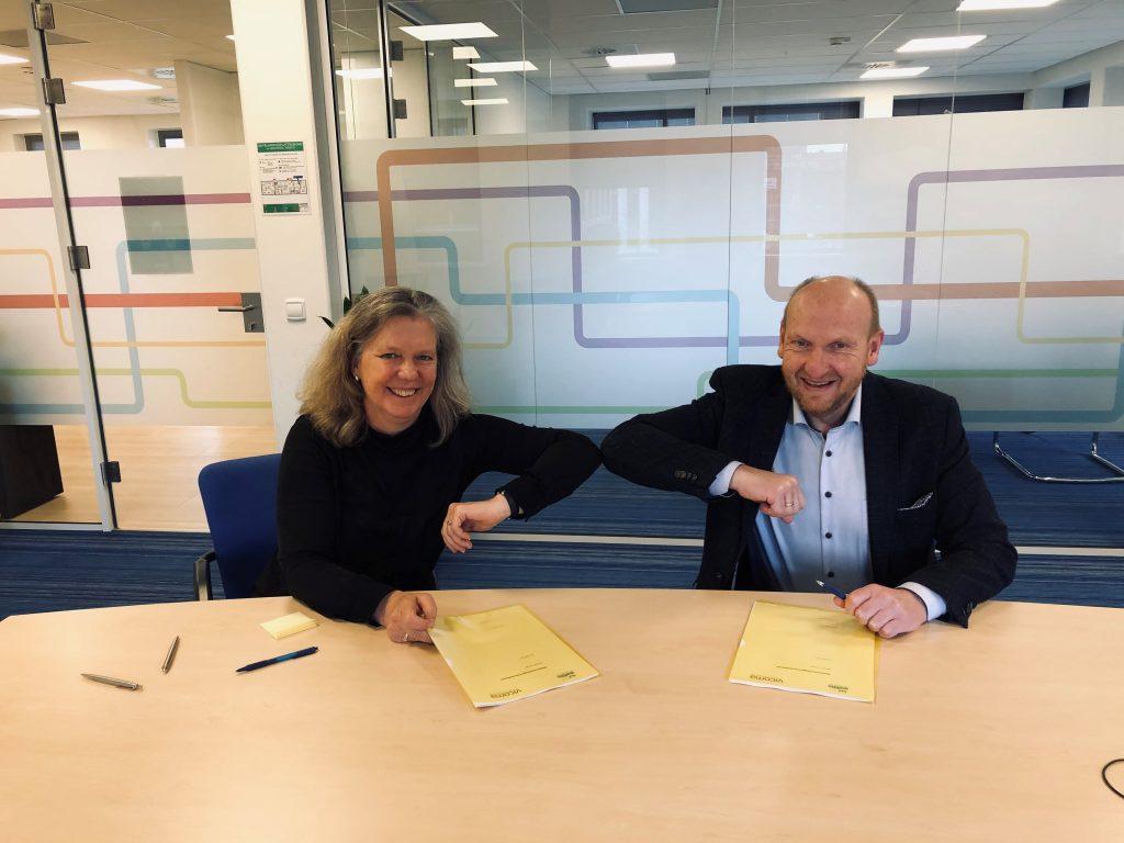 Ondertekening samenwerkingsovereenkomst Vicoma